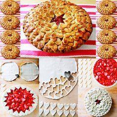 УКРАШЕНИЕ БЛЮД-31. Украшение пирогов - рецепты с пошаговыми фото