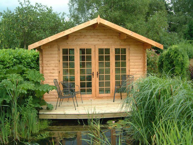 Log Cabin Sheds Summer Houses | ... - summer house - garden shed - log cabin - fence - garden furnature