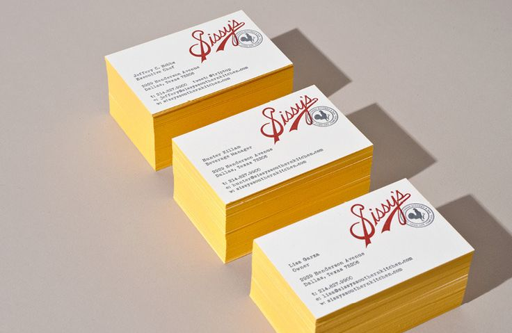 Sissy's Letterpressed Business CardsKitchens Interiors, Cards Design, Creative Business Cards, Southern Kitchens, Brand Identity, Living Room, Design Kitchens, Sissy Southern, Modern Kitchens Design