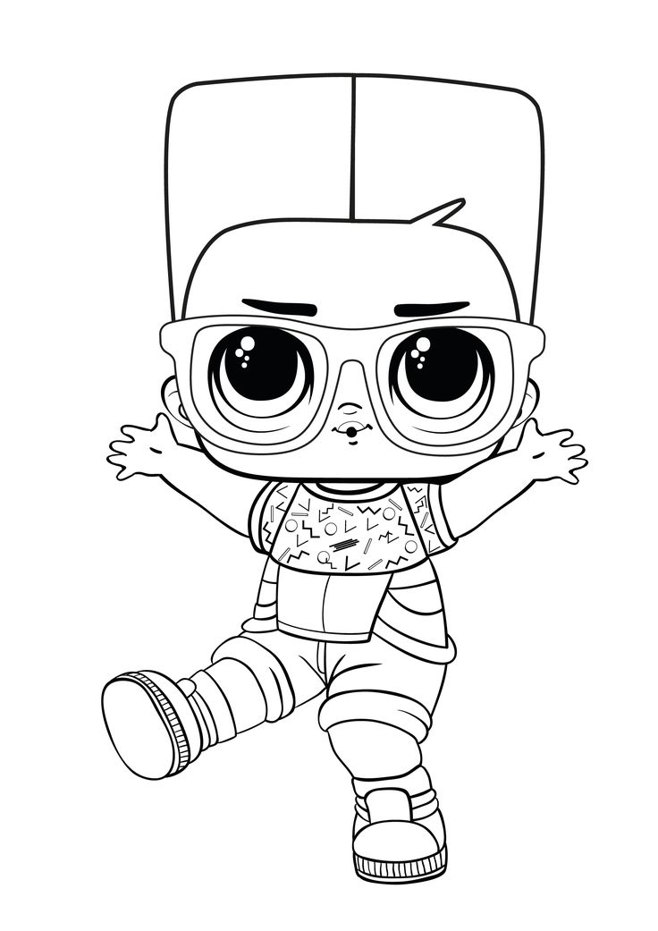47+ Coloring pages lol boy info