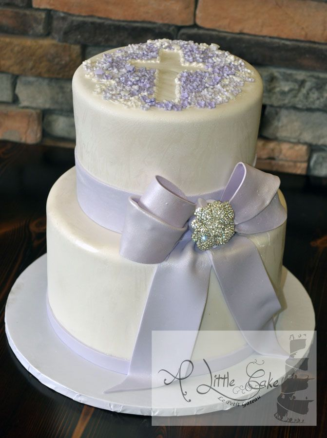 confirmation cakes ideas | ... , 2013 at 671 × 900 in Tiered Communion Cake . ← Previous Next