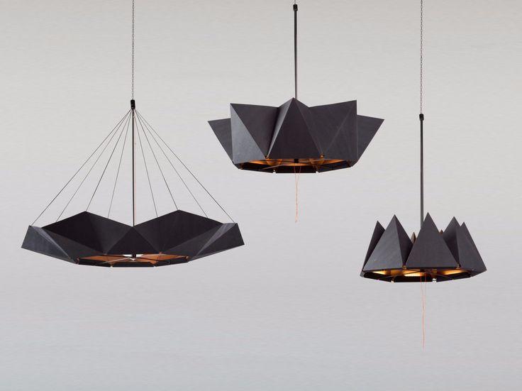 LED handmade pendant lamp inMOOV by Studio Lieven design Nina Lieven