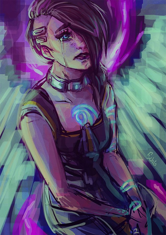 Angel (Borderlands 2) Artist unknown #Borderlands
