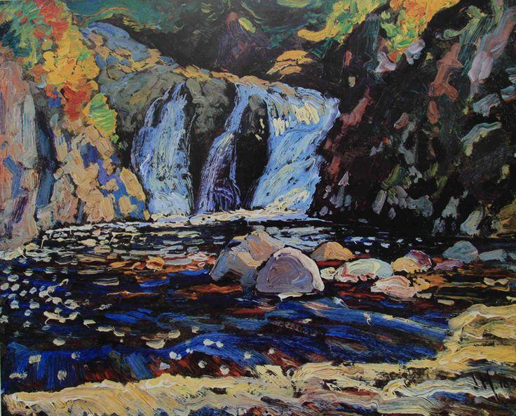 Little Falls - J.E.H. Macdonald (1873-1932)