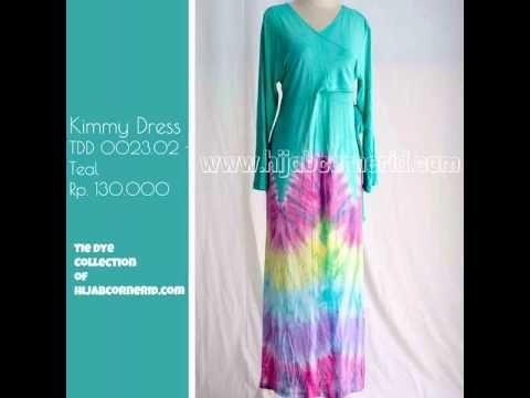 Baju Pelangi Tie Dye | Kimmy Dress Atisomya.com collection