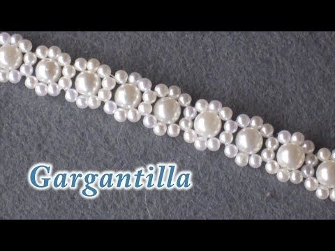 # DIY - Pulsera de perlas y tupis# DIY - Bracelet of pearls and tupis - YouTube