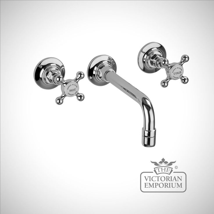 Wall mounted nozzle with valves - Basin Taps