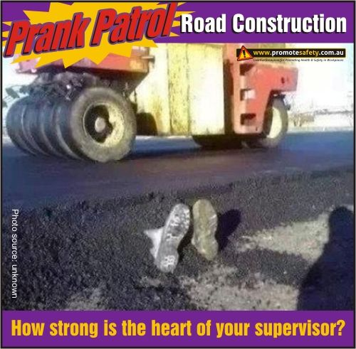 Funny Road Construction Safety Meme