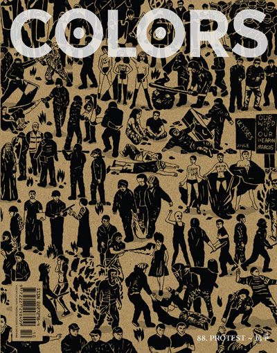 COLORS 88: Protest – Over the past three years, people in more than 80 countries across the world have taken to the streets to protest against their governments. But only in 6 of the above countries did governments finally fall.