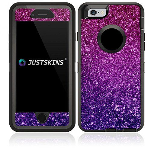 sale retailer 0f9a6 ee13b Amazon.com: Violet Magenta Ombre Shimmer Skin Decal for Lifeproof ...