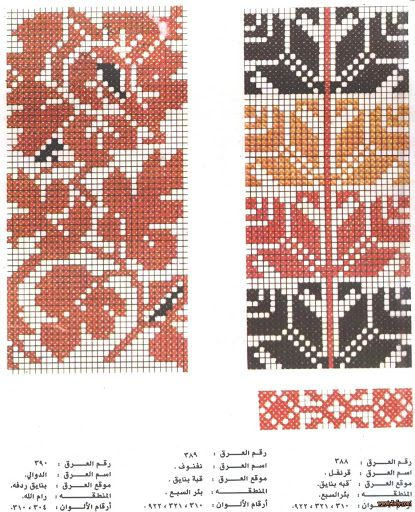 Palestinian Cross Stitch Patterns - Majida Awashreh - Веб-альбомы Picasa