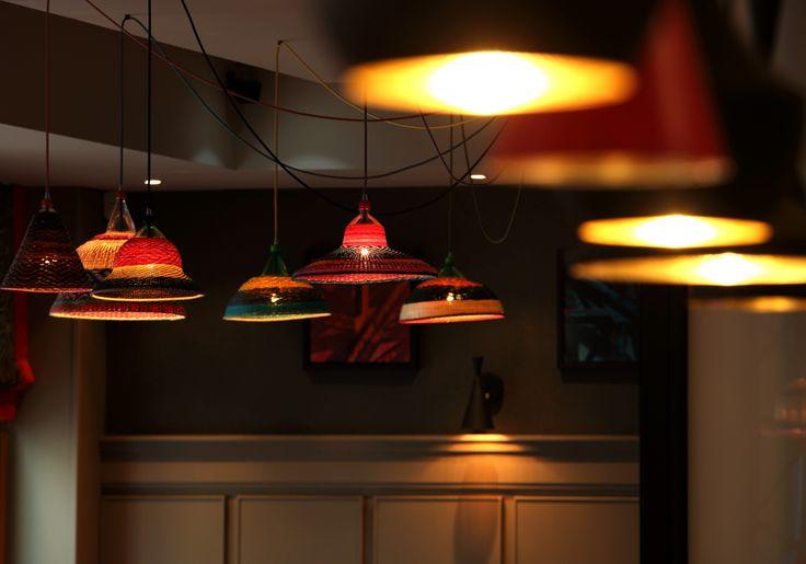 Classic Modern Bistro | 21 interior design by Ward Robinson | Newcastle upon Tyne | Bar Design | Pet Lamp lighting
