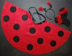 Assemble Your Ladybug Costume