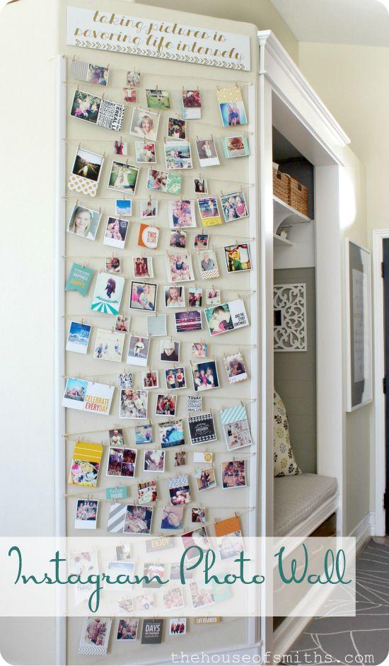 instagram wall display