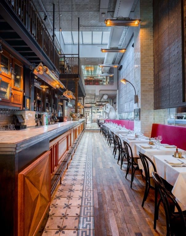 Nacional amsterdam restaurant interior design for Interieur design amsterdam
