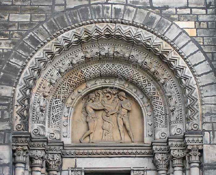 Adam a Eva, chrám sv. Cyrila a Metoděje, Václav levý