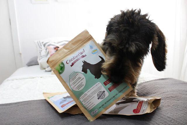 Con Perros y a lo loco | Vida perruna | Dogs & Lifestyle: CookiesWil, alimento deshidratado.
