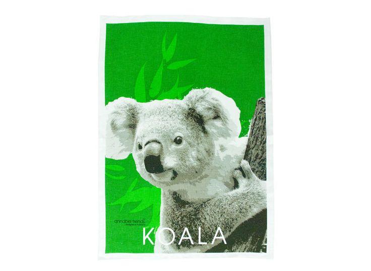 Koala Linen Tea Towel Super Absorbent Annabel Trends Quality Australia New