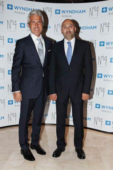 Merih Şahin - Wyndham Ankara Muhteşem bir Davetle açıldı.