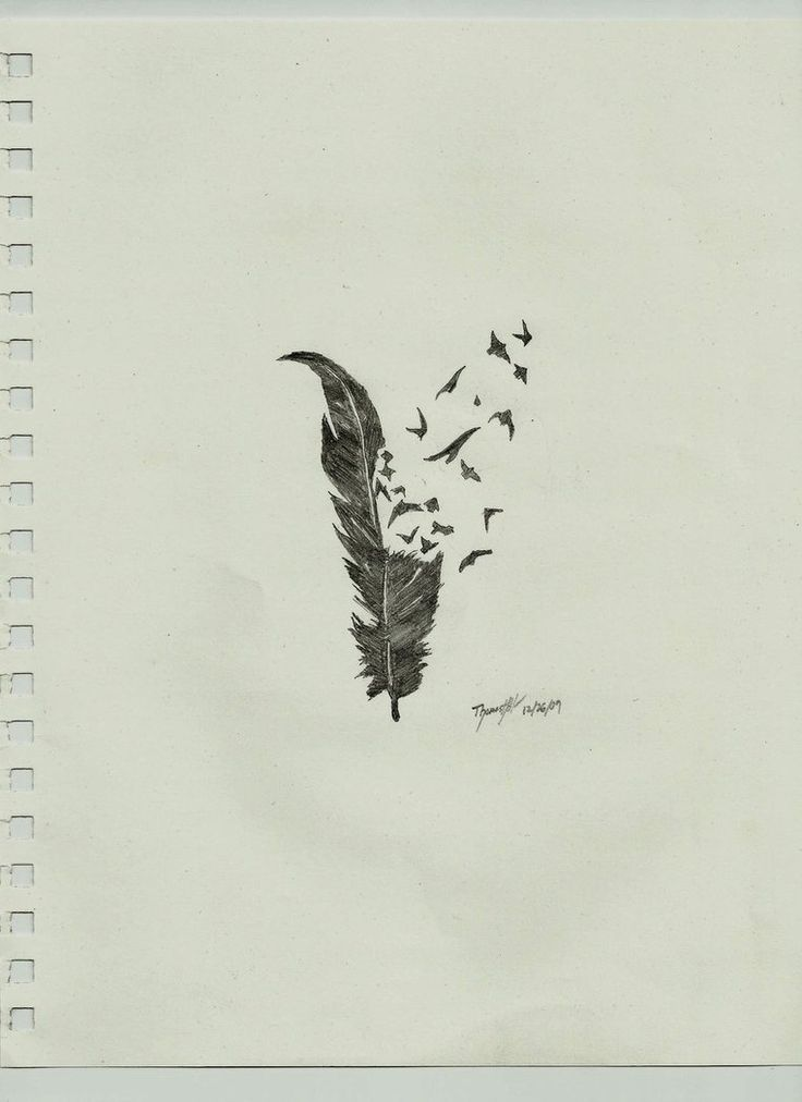 feather tattoo | Feather Tattoo Crow by ~TheArtistThomas on deviantART