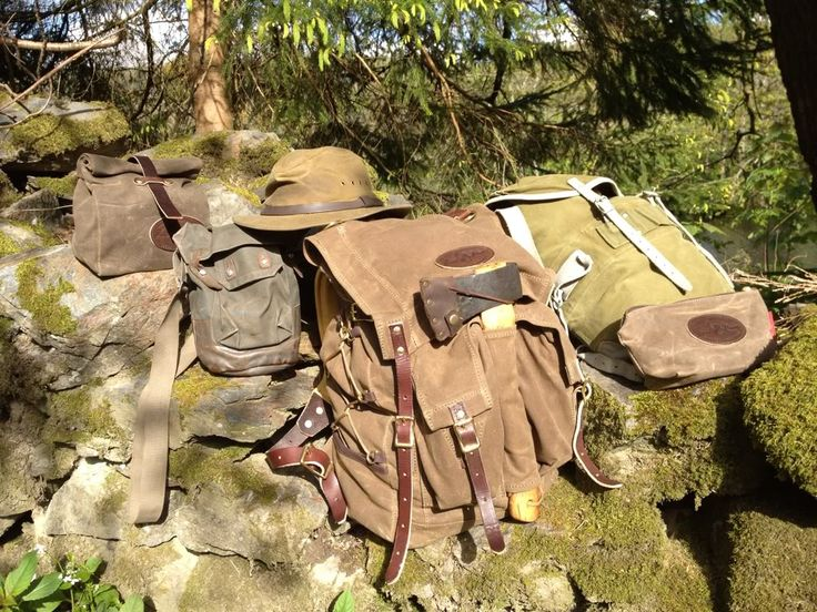 Frost River Canvas Packs Bushcraft Pinterest