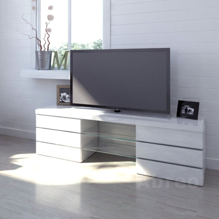 http://abreo.co.uk/living-room-furniture/modern-tv-stands/high-gloss-6-drawer #white #highgloss #tvstand