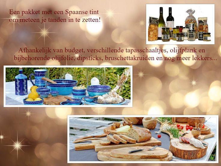 Tapas-kerstpakket - prijzen vanaf € 19,95 \
