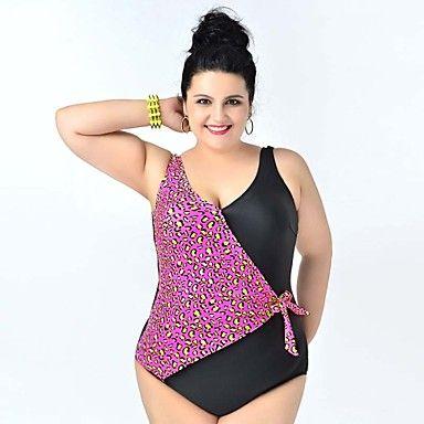 Haraly 2018 Nouveau Femme Sexy Push Up Rembourré Maillot de Bain 2 Pièces Taille Haute Bikini Bikini à Bretelle Bowknot Rayure Beachwear Bathing Suit (Noir, XL)