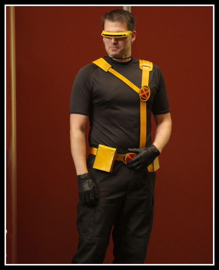 X Men Cyclops Movie Costume Easiest Cyclops Costum...