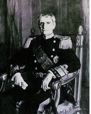 Almirante João de Canto e Castro, quinto Presidente da Primeira República.