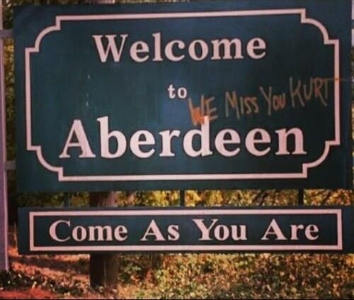 kurt cobain memes | ... come as you are hometown aberdeen we miss you kurt RIP kurt cobain