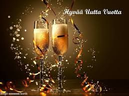 Kahvakuula kainalossa: Kiitos kuluneesta vuodesta ja riemukasta uutta vuo...