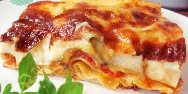 Μπορεί η πιο απλή και εύκολη συνταγή για λαζάνια φούρνου να είναι και η νοστιμότερη; Και φυσικά μπορεί!