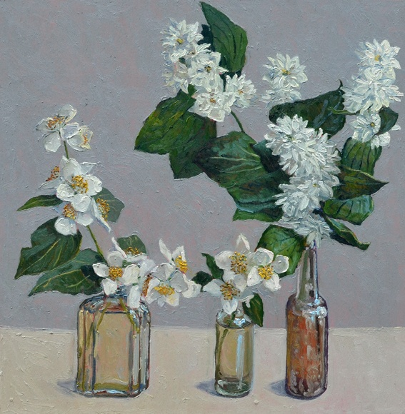 Mock orange. Lucy Culliton - Bibbenluke Flowers exhibition