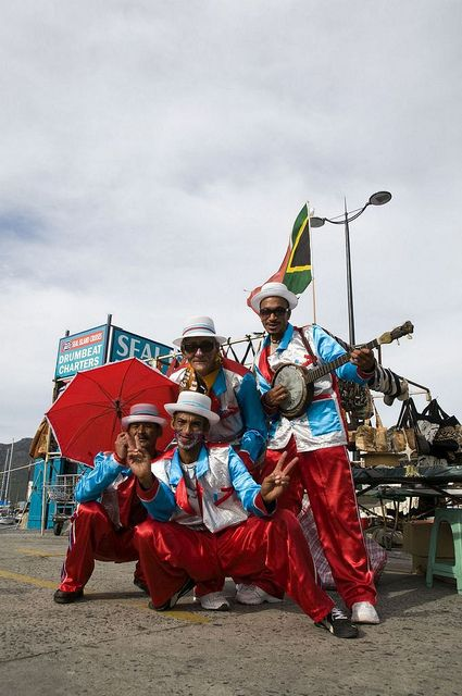 Cape Minstrels, Hout Bay Harbour,  Cape Town, Western Cape by South African Tourism, via Flickr