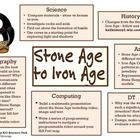 A cross-curricular topic map (overview) showing how to link this history unit to other areas of the curriculum. ...