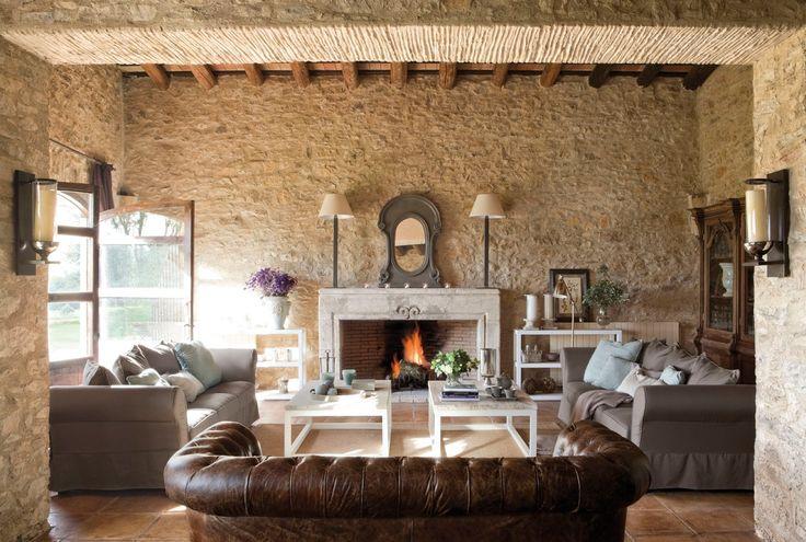 Decoración de Salones con Chimenea - Para más información ingrese a: http://decoracionsalas.com/decoracion-de-salones-con-chimenea/