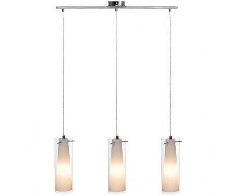 Pinto 3 Light Double Glass Pendant,Lighting,Beacon Lighting