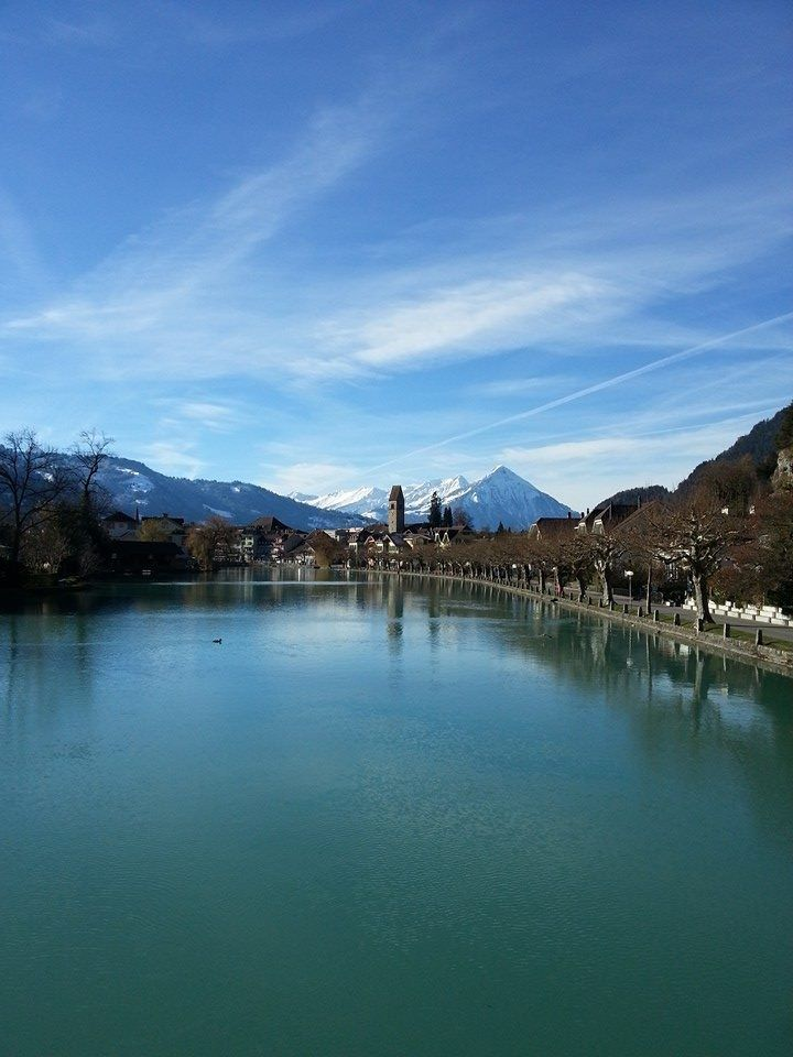 Nice walk along the Aare river.