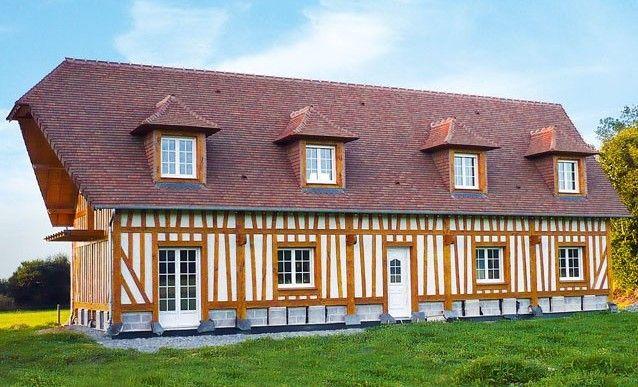 Construction d 39 une maison colombage travaux neufs for Aide etat construction maison
