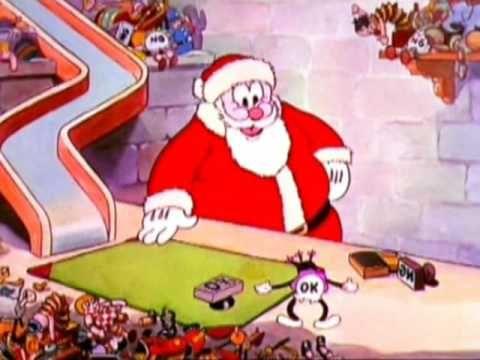 Joulupukin pajassa