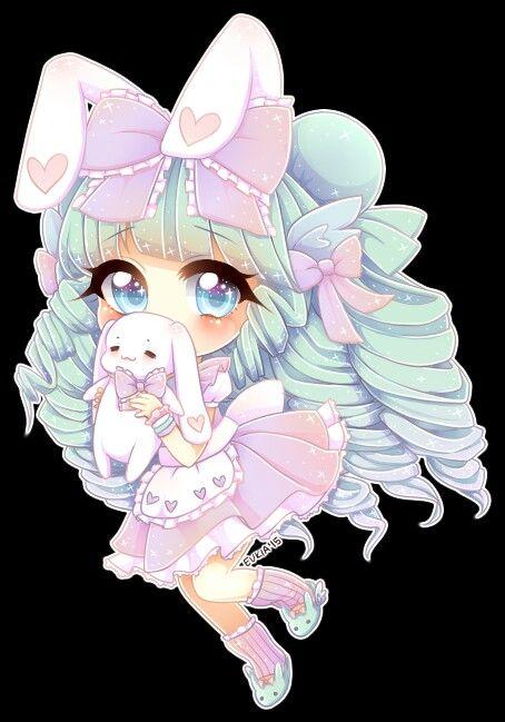 Cute Chibi Pastel Princess