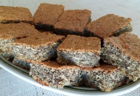 Paleo mákos-kókuszos sütemény