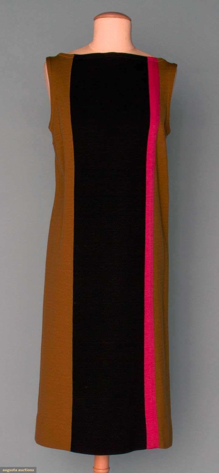 Augusta Auctions, November 14, 2012 NEW YORK CITY, Lot 356: Rudy Gernreich Wool Knit Dress, 1960s