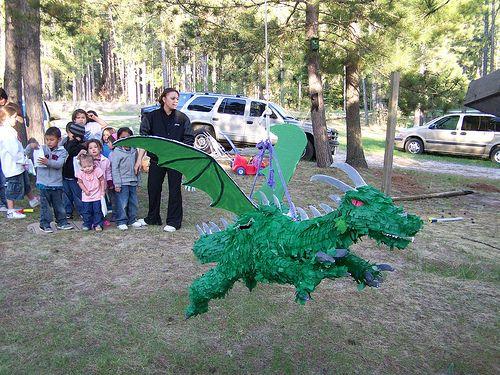 A dragon pinata?  Yes!