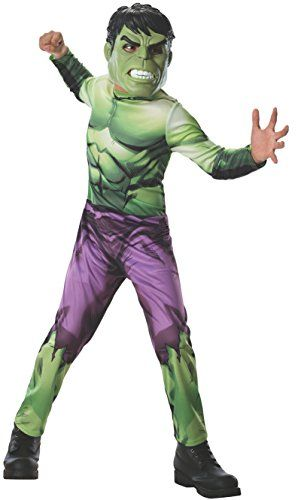 Rubies-Marvel-Universe-Classic-Collection-Avengers-Assemble-Incredible-Hulk-Costume-Child-Small-0