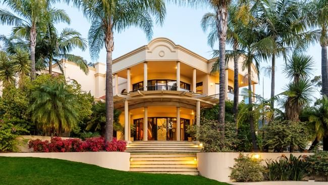 A Springfield mansion built by hotelier Peter Hurley is tipped to become SA's most expensive house. Take a look inside — it's incredible.