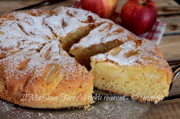 Torta di mele facile ricetta della nonna soffice e golosa il mio saper fare