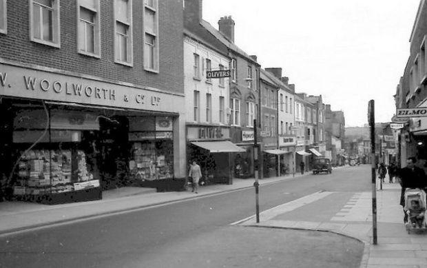 Yeovil Woolworths 1965