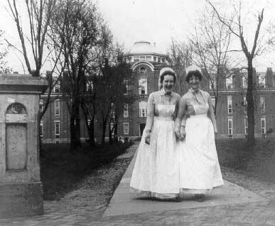 1889 Jennie Agnew and Emma C. Norris Nursing Students